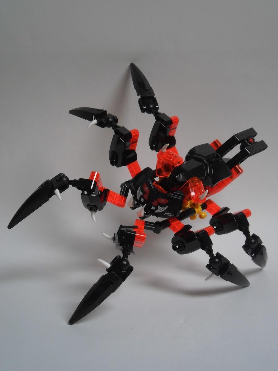 [Revue] LEGO Bionicle 70790 : le Seigneur des Araignées Squelette 70790-loss