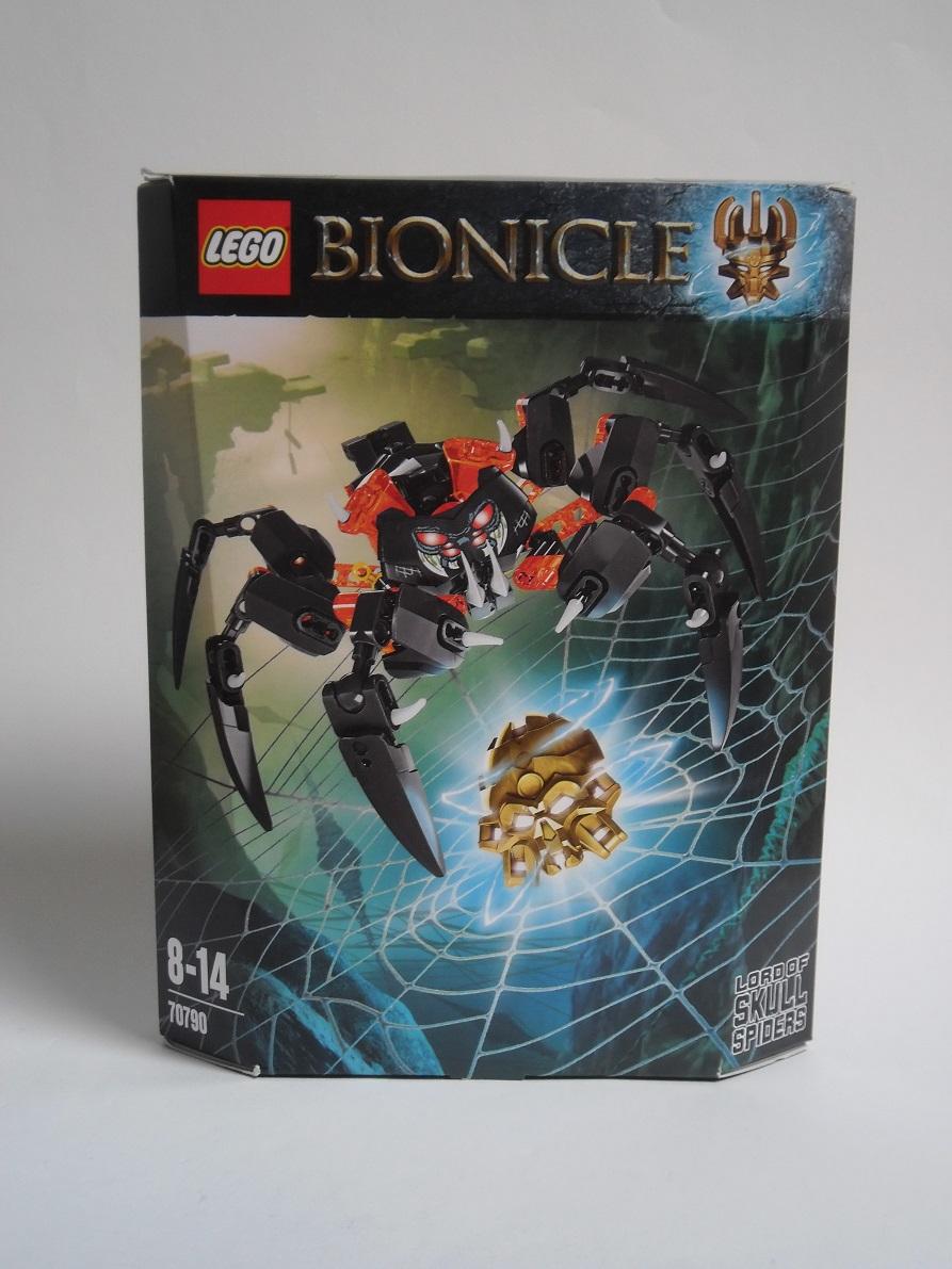[Revue] LEGO Bionicle 70790 : le Seigneur des Araignées Squelette Pb200024