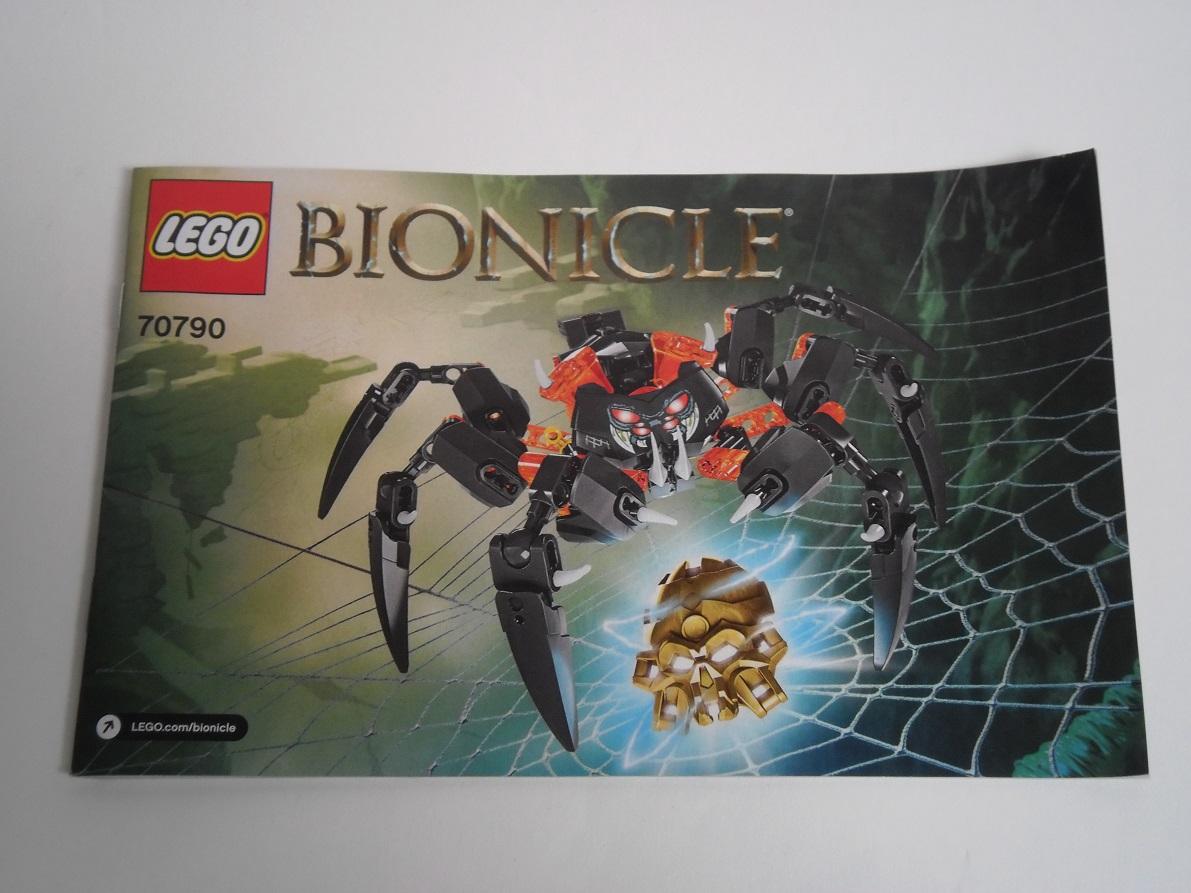 [Revue] LEGO Bionicle 70790 : le Seigneur des Araignées Squelette Pb200028