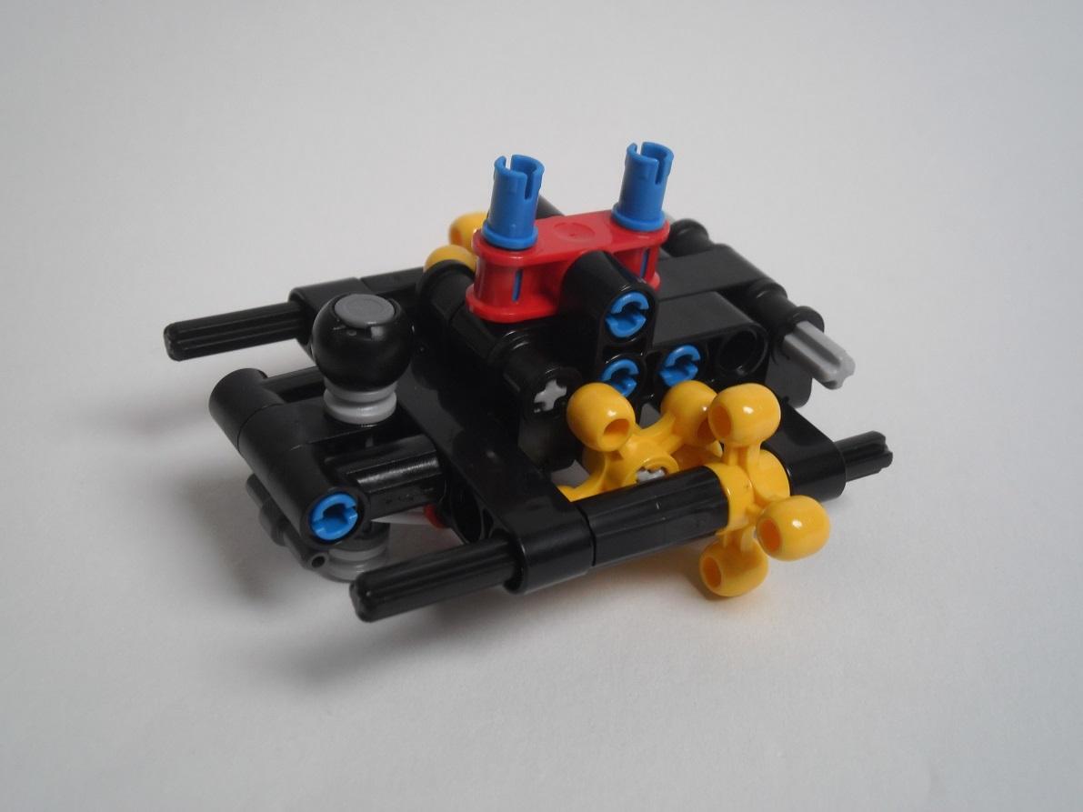 [Revue] LEGO Bionicle 70790 : le Seigneur des Araignées Squelette Pb200054