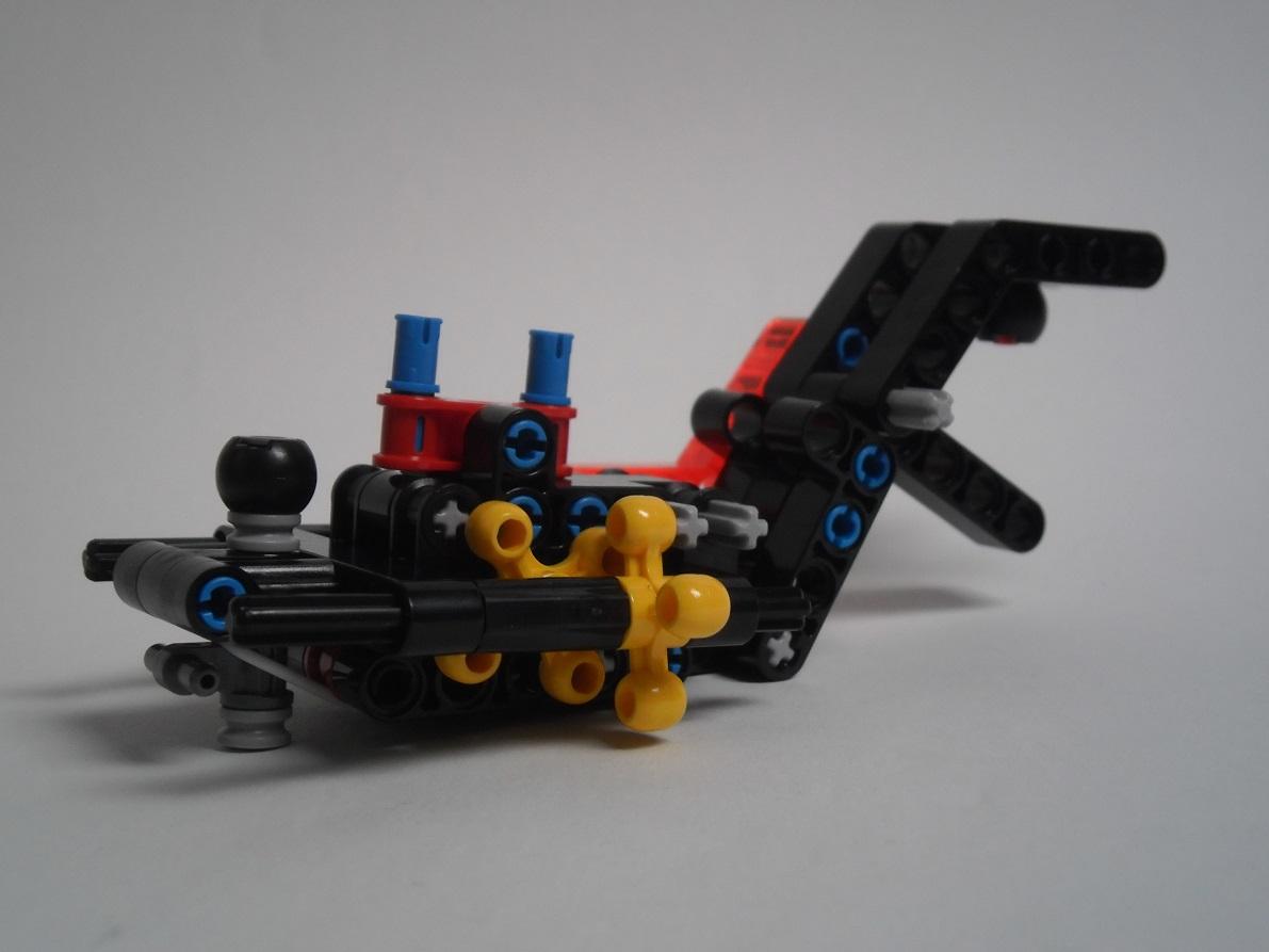 [Revue] LEGO Bionicle 70790 : le Seigneur des Araignées Squelette Pb200062