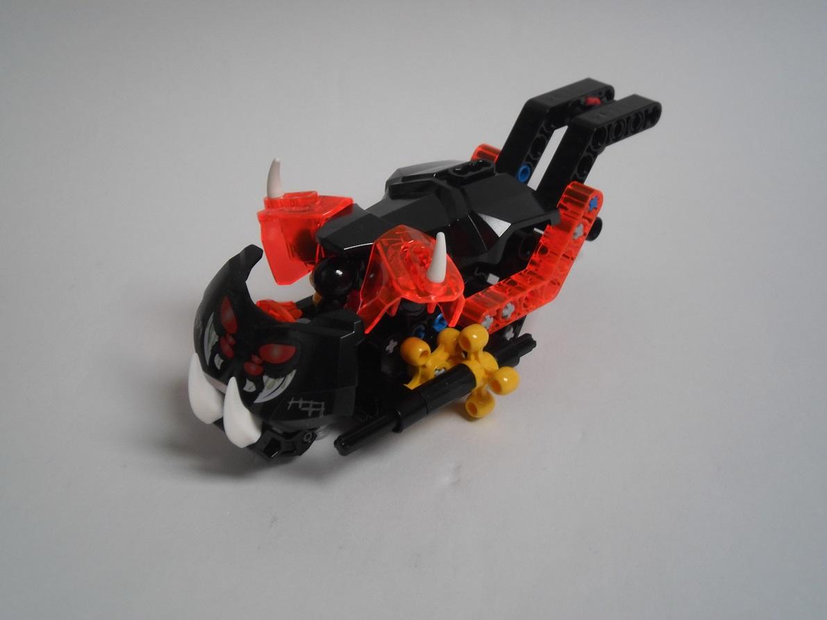 [Revue] LEGO Bionicle 70790 : le Seigneur des Araignées Squelette Pb200074