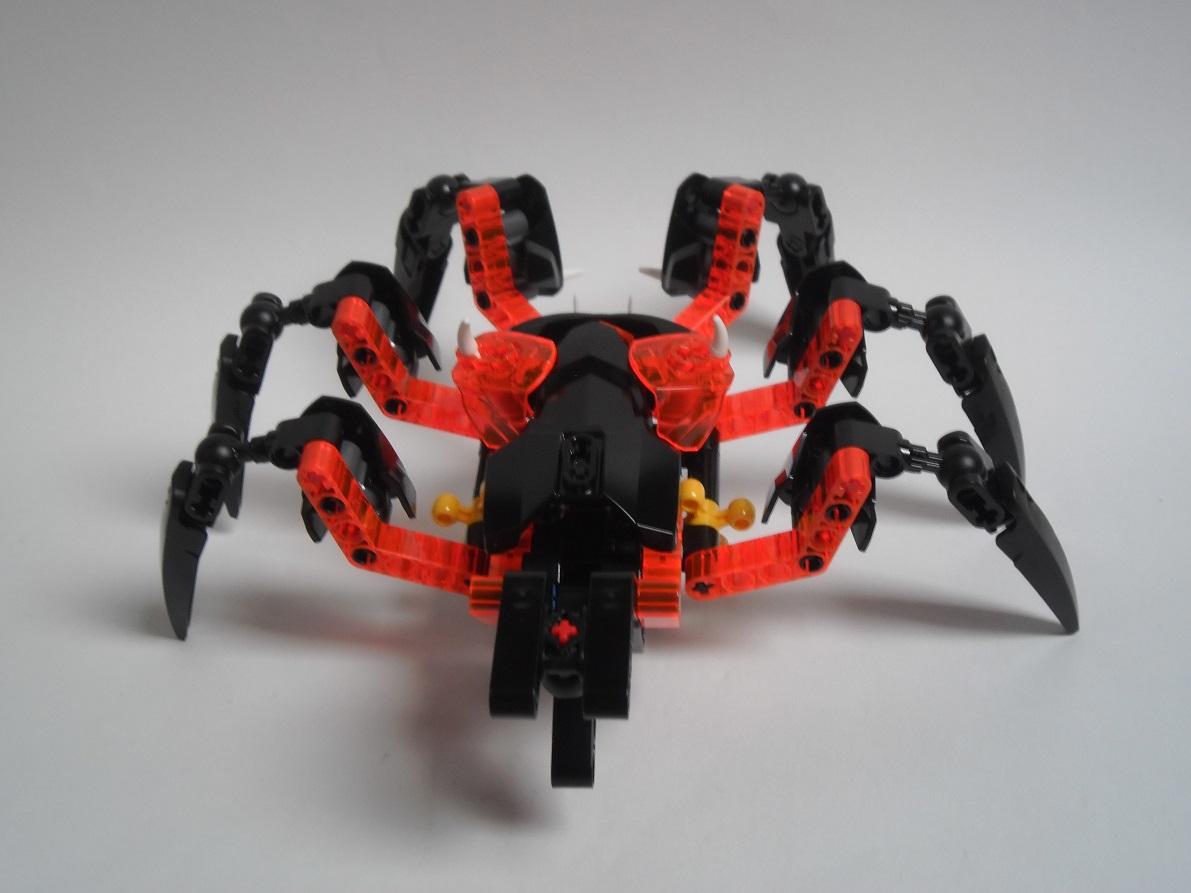[Revue] LEGO Bionicle 70790 : le Seigneur des Araignées Squelette Pb200086