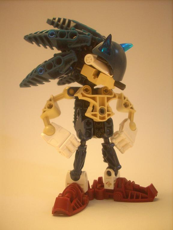 [MOC] Il est bleu et cool... Sonic_01