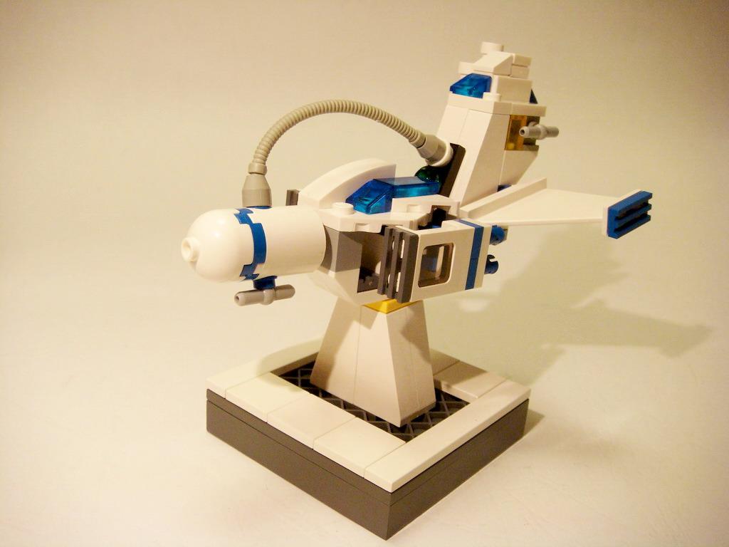 [MOC] MINI 迷你太空載具 Vol.2 super lade aircraft - S.L.A