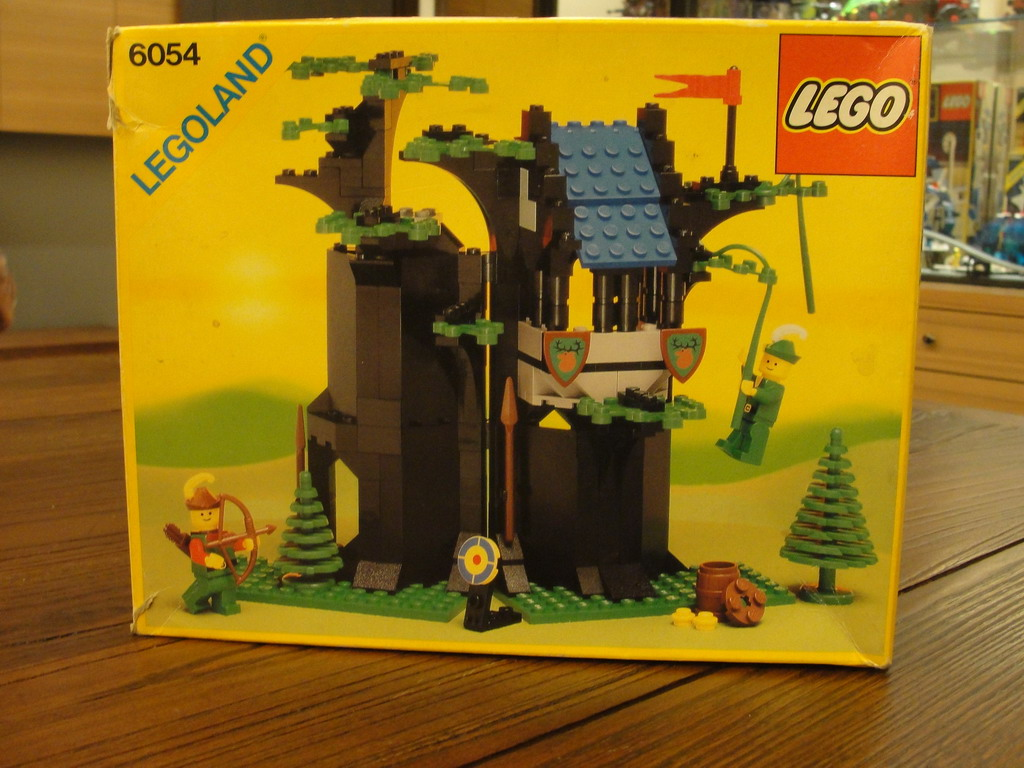 LEGO‧樂高‧編號:6054‧1988年‧Forestmen's Hideout