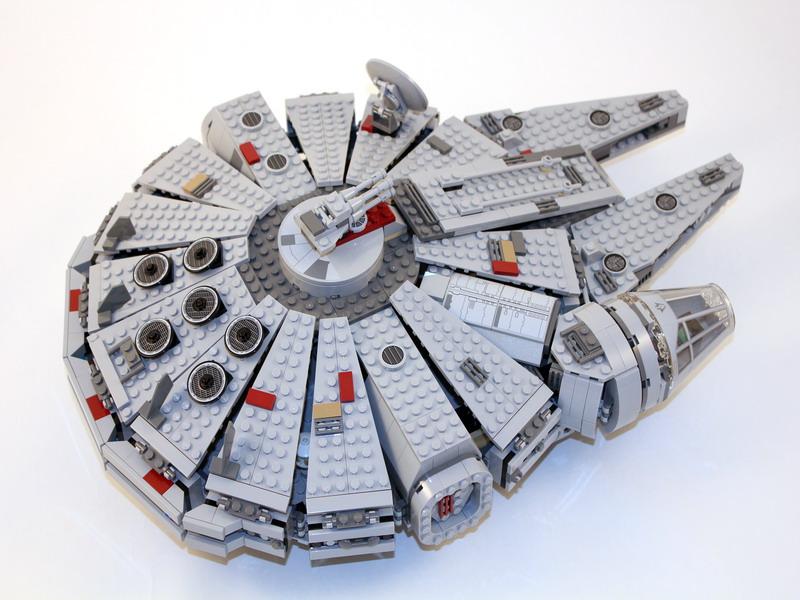 2011 星戰系列 7965 Millennium Falcon 千年鷹號【abba版】
