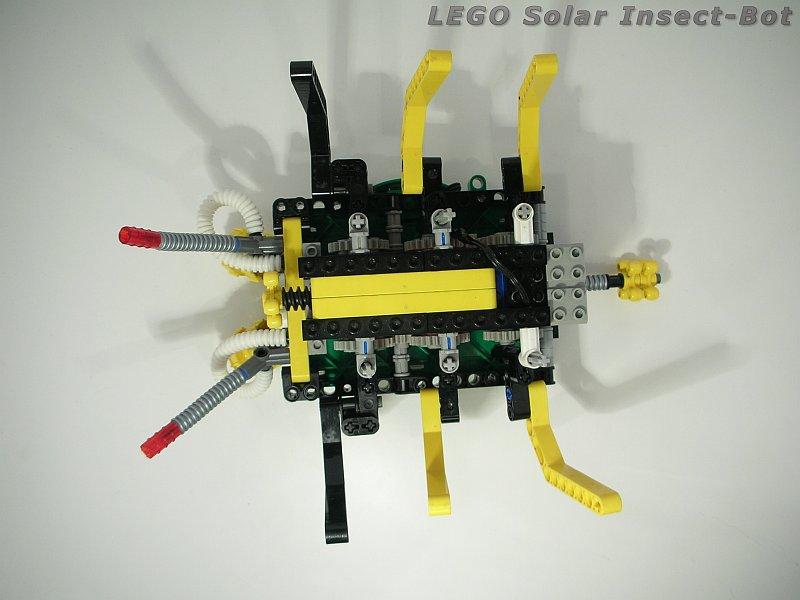 Skorupa S Lego Solar Powered Motorized Insect Lego