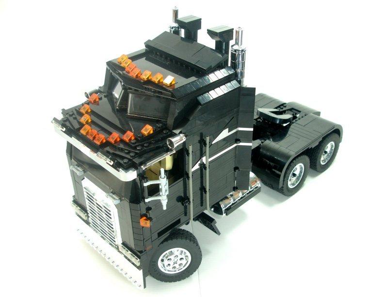 Lego Technic Creator Model Team Kenworth Truck Instructions 5571