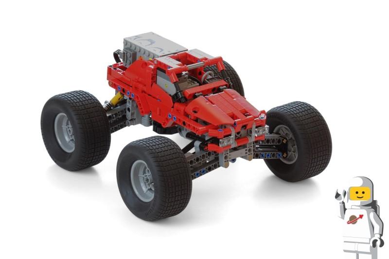 Mod 42005 Monster Truck Lego Technic Mindstorms
