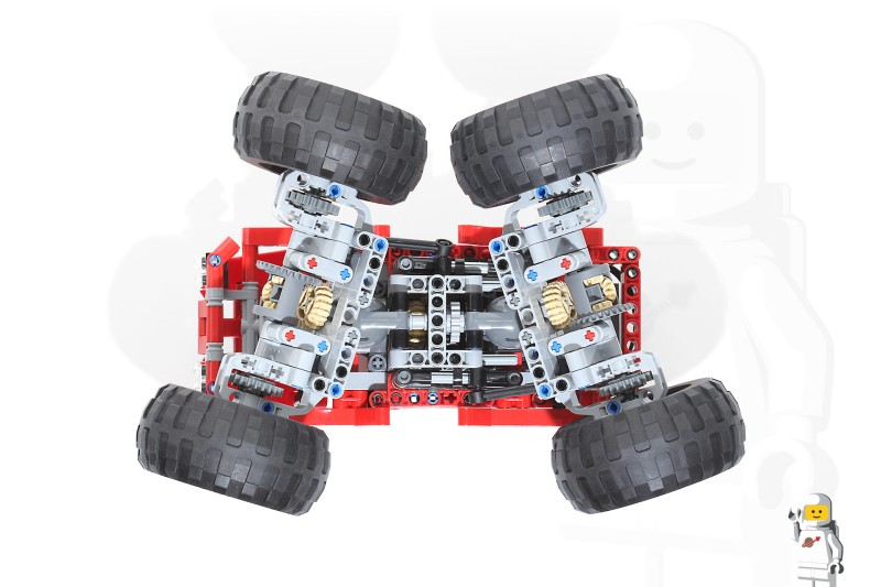 42005 Monster Truck Motorized And Rc Lego Technic And Model Team