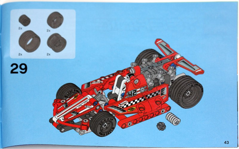 42011 Race Car Pictorial Review Lego Technic And Model Team
