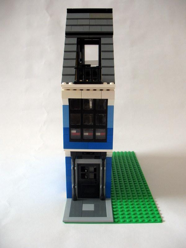 Moc 8 Wide Modular House Lego Town Eurobricks Forums