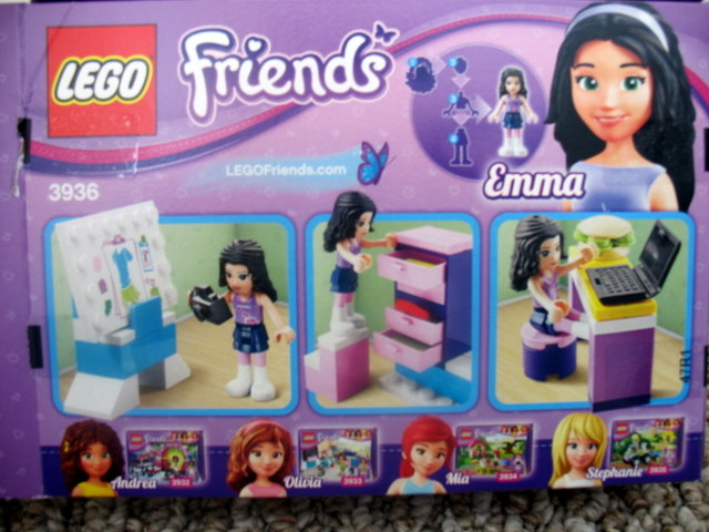 Review 3936 Emma S Fashion Design Studio Friends Lego Town Eurobricks Forums