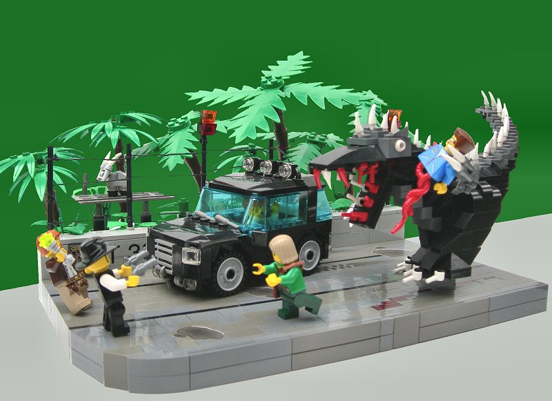 Monstosaurus Rex Rampage Lego Action And Adventure Themes