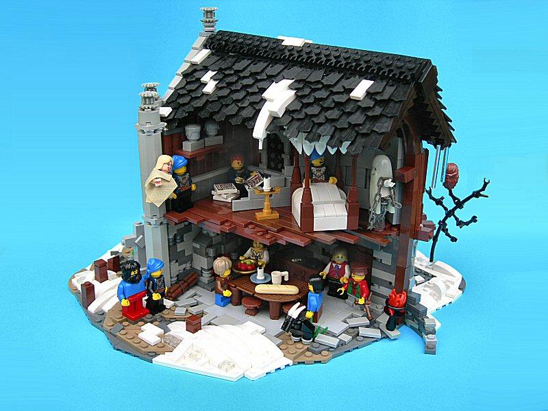 lego christmas carol