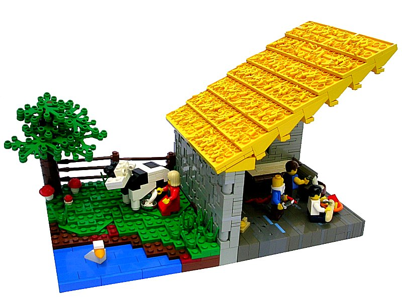 Roof Techniques Lego Historic Themes Eurobricks Forums