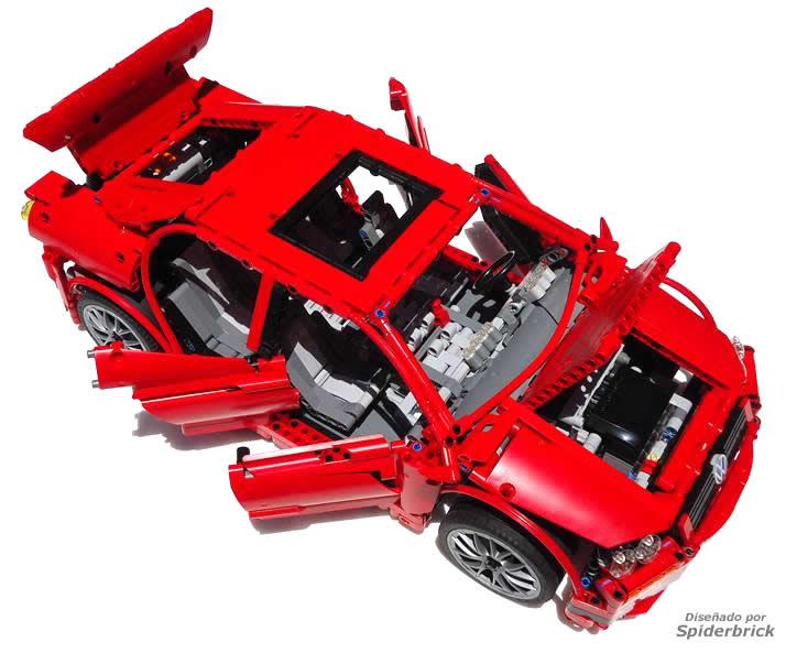 LEGO Volkswagen Jetta RC by SpiderBrick