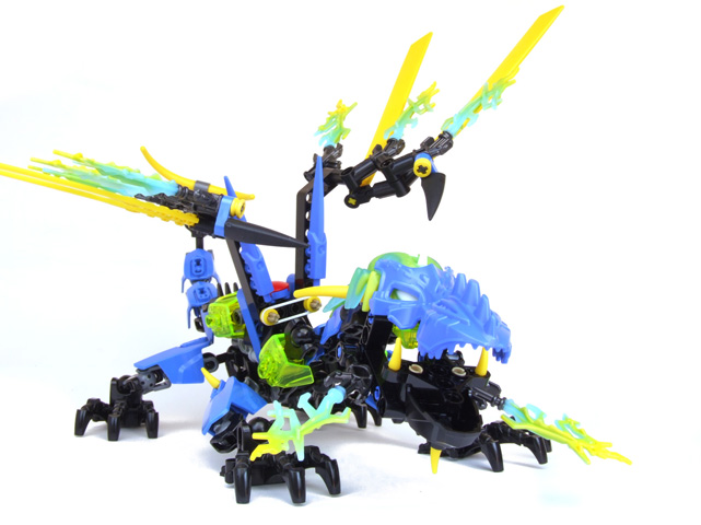 REVIEW: 44009 Dragon Bolt - LEGO Action Figures - Eurobricks Forums