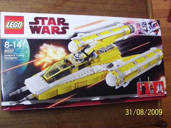 Review on set 8037 Anakin's y-wing. 100_1173