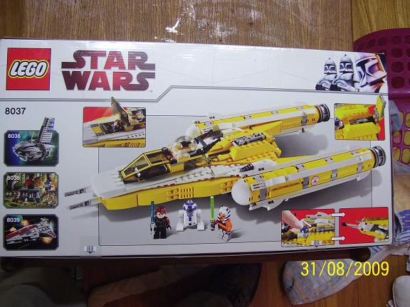 Review on set 8037 Anakin's y-wing. 100_1175
