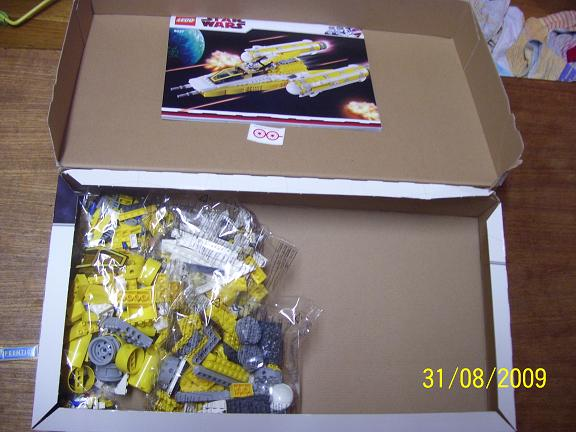 Review on set 8037 Anakin's y-wing. 100_1179