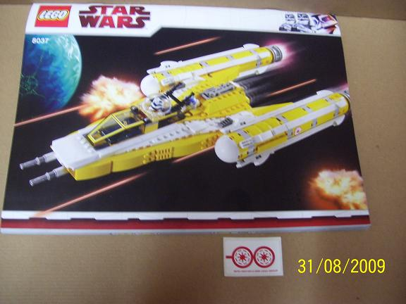 Review on set 8037 Anakin's y-wing. 100_1180