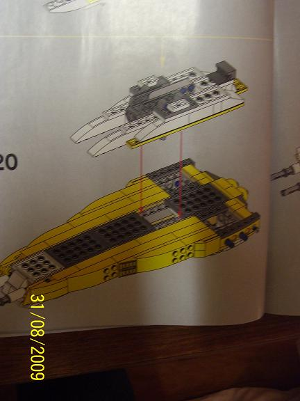 Review on set 8037 Anakin's y-wing. 100_1201