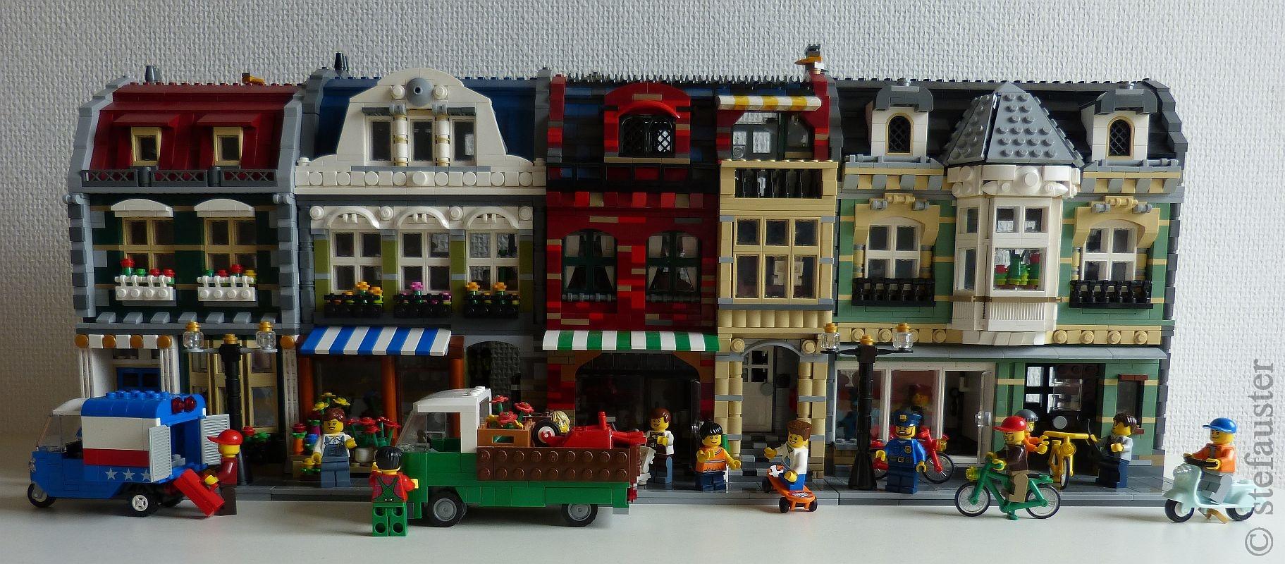 Re: Meine neuen modularen Häuser :: LEGO bei 1000steine.de ...