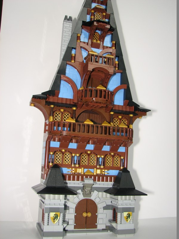 Moc Big Tudor House Lego Town Eurobricks Forums