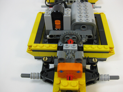 Lego Cool Cruiser with motors