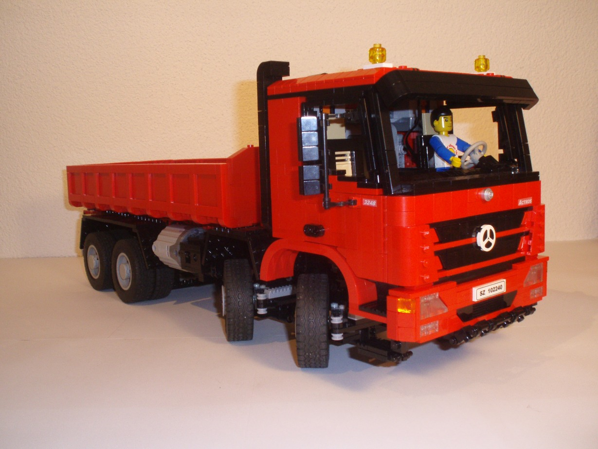 mercedes actros 3248 hooklift lego technic and model. Black Bedroom Furniture Sets. Home Design Ideas