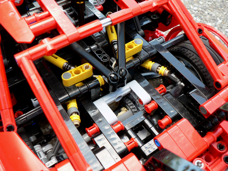 Lego Moc 1660 Audi Rs5 Dtm Technic 2014 Rebrickable Build With