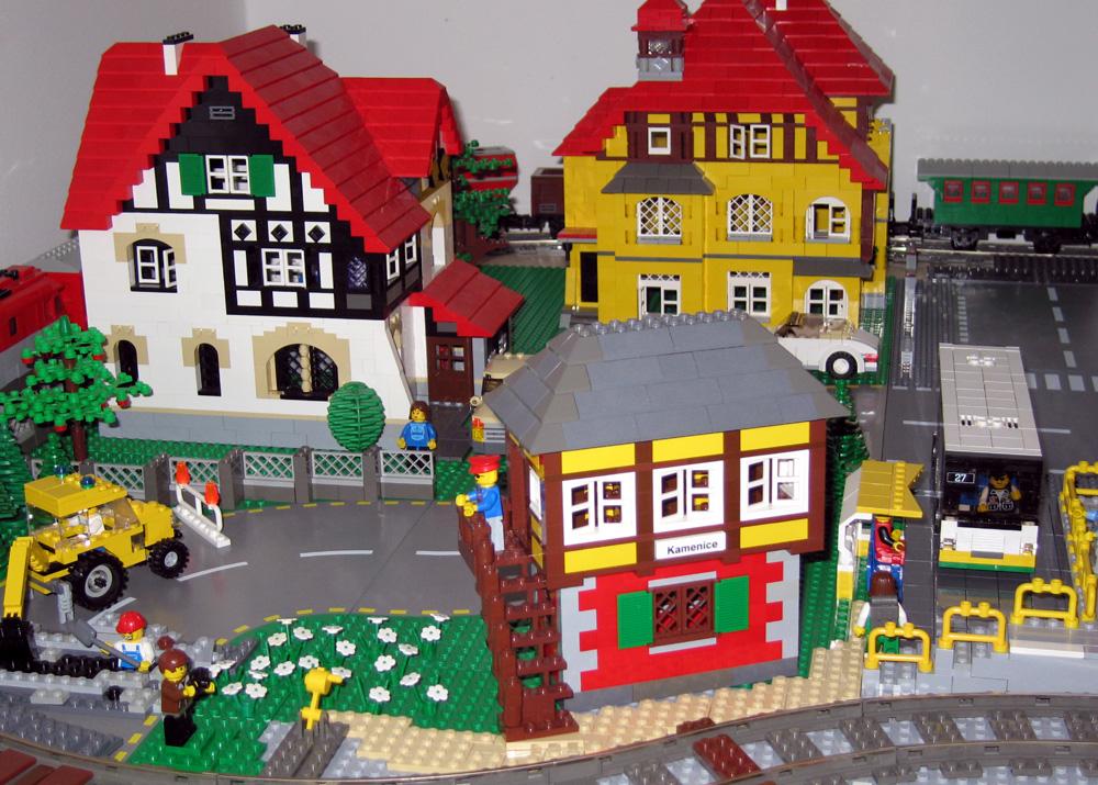 Как построить лего город своими руками 17