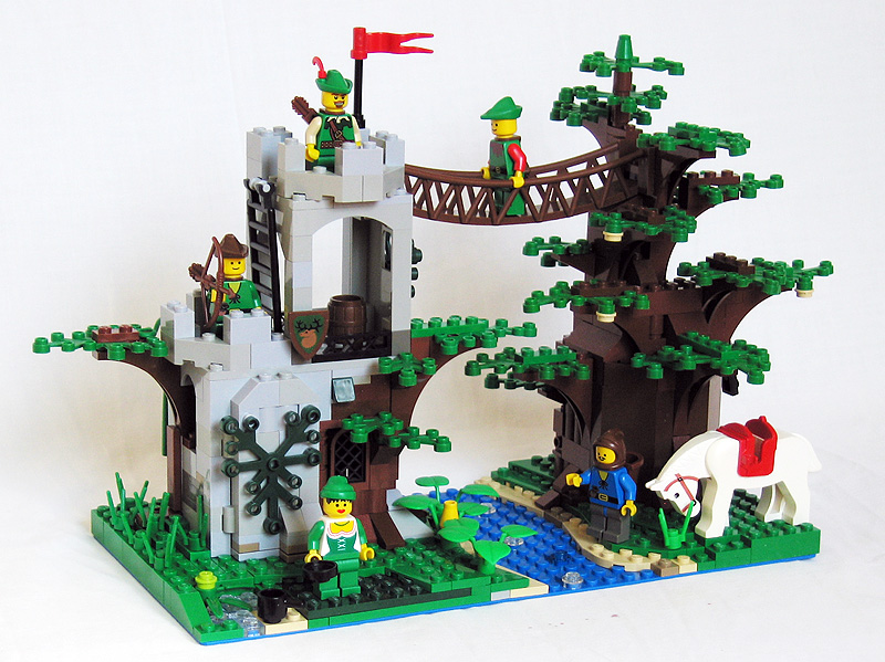 MOC: Forestmen's Crossing - version 2010 - LEGO Historic Themes ...