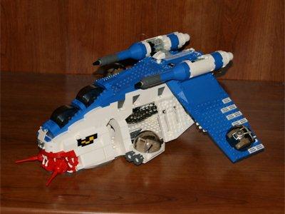 Custom LEGO Clone Wars Republic Gunship listed on eBay - Buy, Sell ...