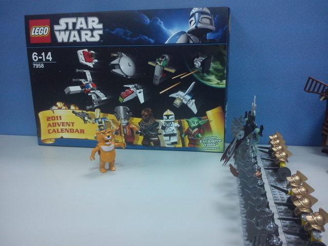 2011 星戰系列 7958 StarWars Advent Calendar 星戰聖誕月曆[58P]