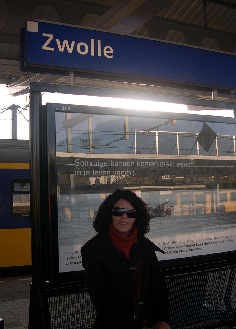 Tânia em Zwolle