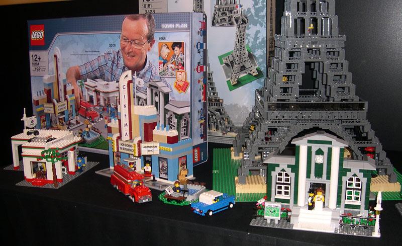 lego town plan