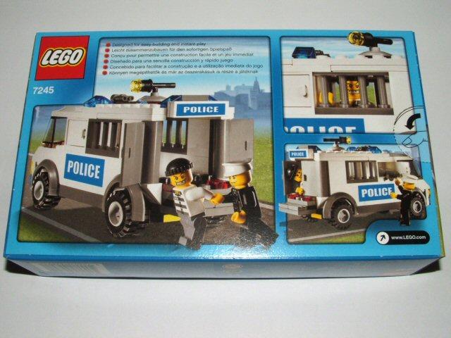 Review 7245 Prisoner Transport Lego Town Eurobricks Forums