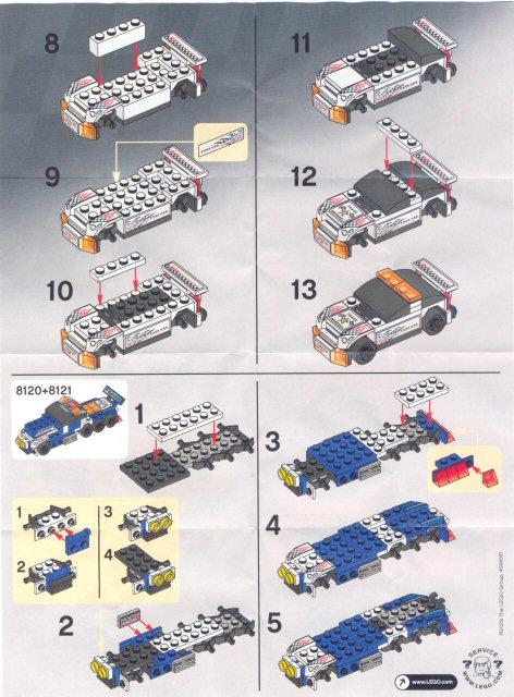Quick Review 8121 Track Marshal Special Lego Themes Eurobricks