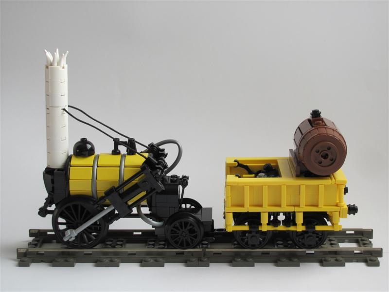 MOC: Stephenson's Rocket - LEGO Train Tech - Eurobricks Forums