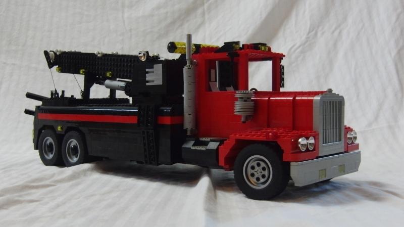 Worksheet. RC Rotator Tow Truck MOC  LEGO Technic Mindstorms  Model