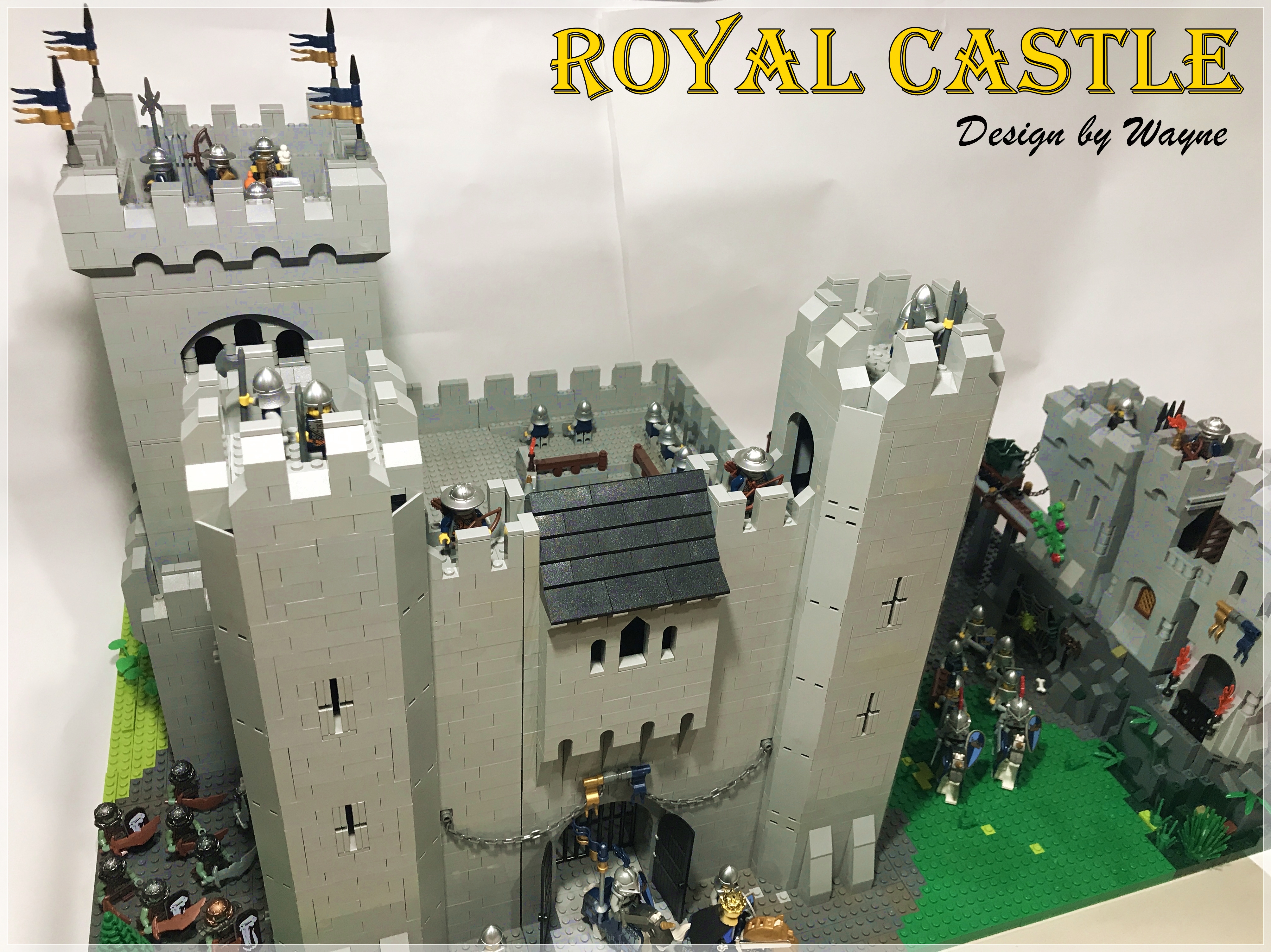 [Wayne MOC] Royal Castle 皇家騎士堡場景