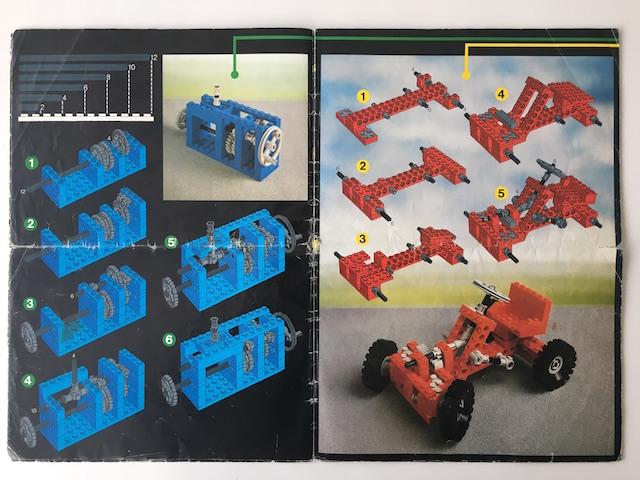 Lego Technic 8260-Tractor-Solo Manual De Instrucciones