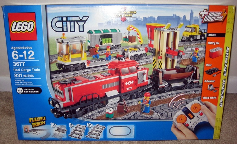 REVIEW: 3677 Red Cargo Train - LEGO Train Tech - Eurobricks Forums