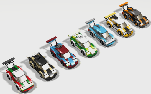 MOD: new Lego Race Car 60053 - LEGO Town - Eurobricks Forums