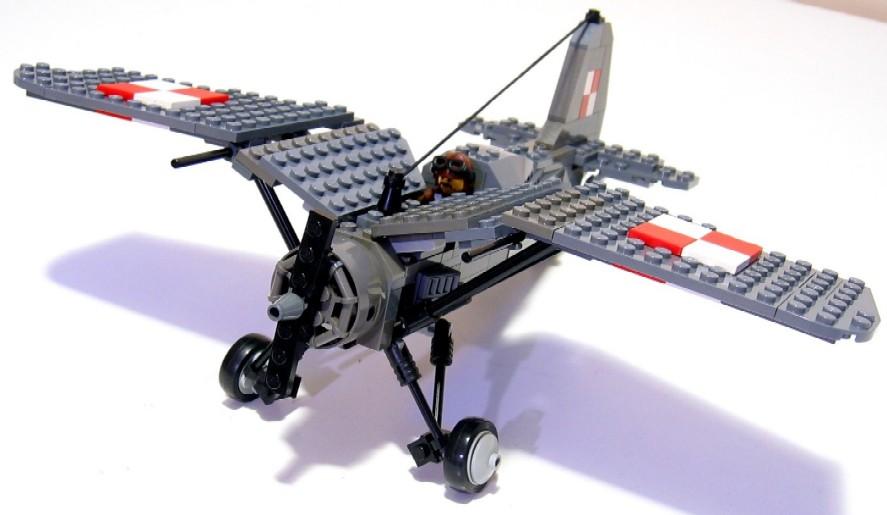 Outubro 2009 o sot o - Avion de chasse en lego ...