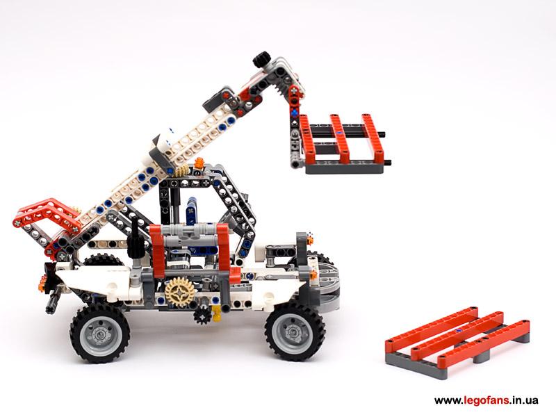 Мотор на лего 8071 инструкция