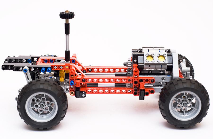 Как сделать из Лего трактор - китайская версия TD-01 - YouTube